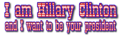 Hillary is here, want her or not
